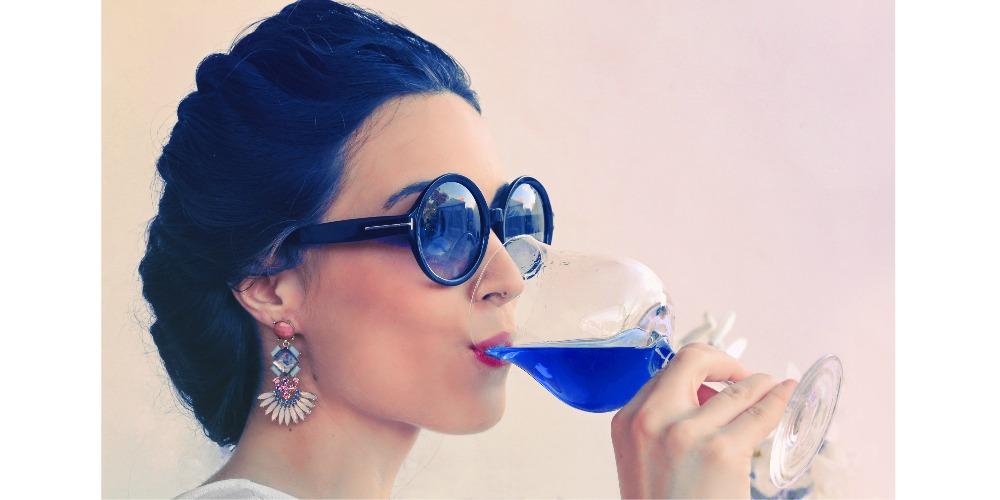 Gik blue wine
